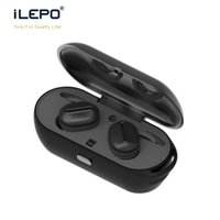 super mini auricular al por mayor-Verdadero Wireless Twins Auriculares Mini Bluetooth V4.1 Super Bass Auriculares Auriculares estéreo Auriculares Manos Libres Con Mic DHL Envío gratis