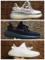 Wholesale Lace Top Boot Socks Wholesale - Double Box BOOST 350 V2 Beluga-Solar Red Sneaker Including Free Bag Free Socks Receipt Top Qulity Cream White Boost 350 V2 Cheap Sale