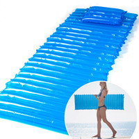 Refroidir Air Inflatable Moisture-proof Pad Beach Water Float Mat Camping Tent Sleeping Bed 200x60x6cm / 78 x 23 x 2inch