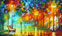 reproductions d'art achat en gros de-Fine Art Reproduction Giclée De Haute Qualité sur Toile Décor À La Maison Paysage Peinture DH102