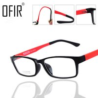 Wholesale Spectacle Frames Light - Wholesale- OFIR Imitate TR90 Optical Spectacle Frame Ultra Light Myopia Sports Eyewear Glasses Frames Unisex Computer Eyeglasses For Women