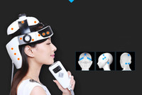 Wholesale Brain Massage - DHL free shipping Electric Head Massager Brain Scalp Massage Acupuncture Points Relax Massage for Head Massager