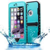 Wholesale Iphone Original Waterproof - Original Redpepper Waterproof Case For Iphone 6 Plus 5.5 Shockproof Water Resistant Dirt-resistant Retail Package DHL free