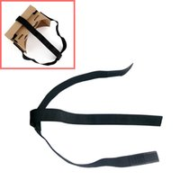 Wholesale free google cardboard for sale - Beautiful Gift Brand New DIY Head Mount Strap For Google Cardboard vr Virtual Reality D Glasses
