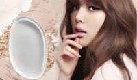 beauty blender sponges al por mayor-Esponjas de silicona de maquillaje Silisponge Blender Set Mezcla de Polvo Suave Puff Beauty Foundation Sin Látex Sin Esponja transparente