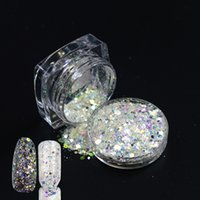 Wholesale Nails Gels Usa - Wholesale- 1Bottle 3g USA Nail Glitter Polish Sparkly Dust powder Nail Art Tip Decoration gel UV Free shipping 2016 Hot T01-04