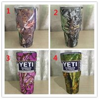 Wholesale Camouflage Stockings - IN STOCK Promotion!!! 30oz Camo Yeti for camouflage yeti Mugs 30 oz Vacuum Insulated Stainless Steel Water Bottle Brand NEW vs hydro flask