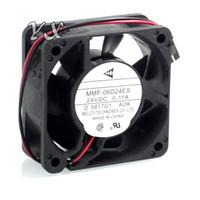 ventiladores de enfriamiento mmf al por mayor-Envío gratis de alta calidad Nuevo NIDEC 6 CM CA1027H09 MMF-06D24ES FC4 ROK MMF-06D24ES-AOK E500 inversor ventilador de refrigeración