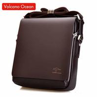 Wholesale Brand Briefcase Wholesale - Wholesale- 2016 New Messenger Bag Men Big Promotion Kangaroo Brand Man Bag Men's Bags Men Messenger Casual Shoulder Briefcase