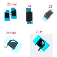 estuches sony xperia z1 compact al por mayor-Para Sony Xperia Z Z1 Z2 Z3 Z3 mini Z4 Z5 Z5 Compacto Z5P NFC Cable flexible Batería Cubierta posterior Funda Antena Conector de chip Etiqueta adhesiva