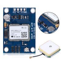 ublox gps toptan satış-Freeshipping Yeni varış APM2.5 UBlox NEO-M8N GPS Modülü GYGPSV1-8M Pixhawk APM için 3-5 V GYGPSV5-NEO