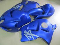 Wholesale Hayabusa Aftermarket Fairings - Aftermarket body part fairing kit for Suzuki GSXR1300 96 97 98 99 00 01-07 blue fairings set GSXR1300 1996-2007 OT10
