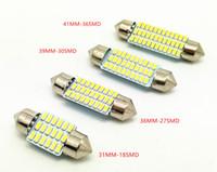 otomobiller için iç kubbe lambası toptan satış-Toptan festoon 3014 smd 31mm 36mm 39mm 42mm C5w İç Araba Için LED Kubbe Işık Lambası Ampul