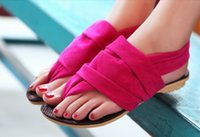Wholesale Cheap Colored Shoes - Wholesale-2015 New Korean Women Sandals Fashion Ladies Canvas Shoes Candy Colored Flat Women Cheap Shoes Student Sweet Beach Sandals