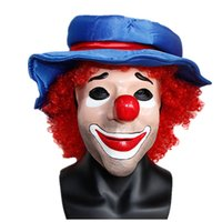 X-MERRY Long Nose Horror Latex Witch Mask Halloween Festival Costume Party Tricky Pirate Clown Mask Cosplay Prop