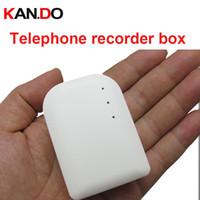 grabadoras telefónicas al por mayor-Venta al por mayor- Libre de teléfono fijo de la línea telefónica del monitor del teléfono, grabador del monitor de Landphone voide grabador de audio grabador