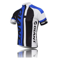 Wholesale Giant Shirts - VACOVE Summer Pro Team Giant Cycling jerseys Breathable Short sleeves Cycling Clothing MTB bike jerseys Ropa Ciclismo cycling shirt GT03WQ