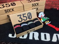 Wholesale 350 V2 Sock new best quality v2 boat Socks sply Sock one box pairs Color Men and Women Sock