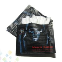 Wholesale cottons for sale - Group buy Muscle Cotton Authentic Demon Killer Muscle Cotton Organic Cotton Fiber Tasteless Fit RBA RTA RDA RDTA Atomizer DHL Free