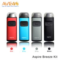 Wholesale Ego U Starter Kit - Aspire Breeze Starter Kit 650mAh Battery with 2ml Capacity and new Aspire U-tech coil 100% Original VS Joyetech eGo Aio Kit