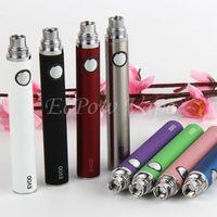 Wholesale Pen Electronic Cigarette Ce4 - Ecigs EVOD Vape battery Pen 510 Thread For MT3 CE4 CE5 Vaporizer Atomizer Tank vape pens Electronic Cigarettes E Cig Pens By ePacket