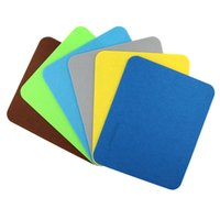 Wholesale Cloth Mouse - 2017 New Felt cloth Hot selling New 240*200*3mm Universal Mouse Pad Mat for Laptop Computer Tablet PC