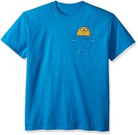 Wholesale Cheap Adventure Time - Adventure Time Jack in Pocket Adult new High Quality 100% Cotton men's T Shirt cheap sell Free shipping