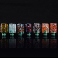 Wholesale Beautiful Electronic Cigarettes - Most Beautiful Flower Drip tips 510 Pyrex Glass Drip Tips Art Flower Drip Tips Mouthpieces Electronic Cigarette DHL Free