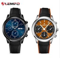 Wholesale Mp3 Phone Waterproof Watch - LEMFO LEM5 Android 5.1 MTK6580 1GB   8GB Smart Watch Phone support SIM card Wifi bluetooth Mp3 smartwatch for huawei apple phone