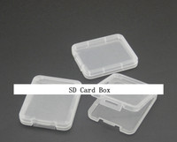 sd plastic achat en gros de-CF TF XD Carte SD Boîtier en plastique boîte emballage de détail emballage nouvelle arrivée avec une bonne qualité