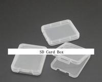ingrosso carta di scatola del pacchetto al dettaglio-CF TF XD SD Card Custodia in plastica confezione da imballaggio al dettaglio nuovo arrivo con buona qualità
