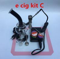 Wholesale Titanium Ecig Mod - ecig kit nail Temperature Controller box mod For DIY Smoke Coil with Titanium Nail with carb cap glass bubble vaporizers wax tool dabber