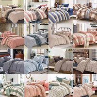 Wholesale Checked Bedding Sets - (4 Piece) Bedding Sets, manufacturer   supplier in China, offering Fashion Hotel  Home Cotton Bedding Set with Comforter Set.no03