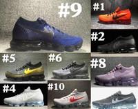 Wholesale Maxs Shoes - Maxs 2018 Essential Men women Running Shoes Essential Sneakers Sport Black White Orange Blue Running Shoes 36-46