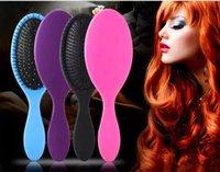 Wholesale Pvc Fines - Wet & Dry Hair Brush Original Detangler Hair Brush Massage Comb With Airbags Combs For Wet Hair Shower Brush