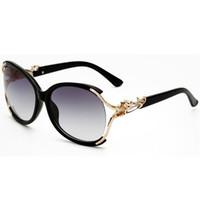 modische dame sonnenbrille großhandel-Sonnenbrille für frauen luxus sonnenbrille damenmode sonnenbrillen trendy damen übergroße sonnenbrille uv 400 frau designer sonnenbrille 1c0j3