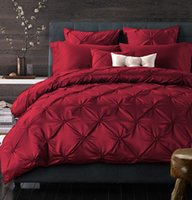 Wholesale Silk Bohemia - Wholesale-4 6 Pcs Silk Cotton Luxury Brand Bohemia Bedding Sets King Queen Size Wedding Bed cover Bed Sheet Comforter Cover  Pillow Sham