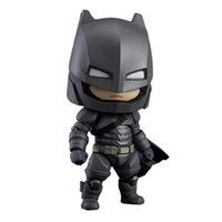 Wholesale Dark Night Action Figures - LilyToyFirm Q Version The Dark Night Armored Batman GSC 628 Batman PVC Action Figure Collectible Model Toys Doll
