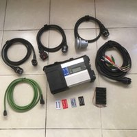 Wholesale Set Truck Cables - Super MB Star C5 SD Conenct diagnostic tool with wifi mb star c5 multiplexer with full set cables for c5 mercedes benz car&truck