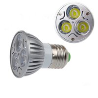 Wholesale 9w 3x3w High Power Led - High power CREE 9W 3x3W LED Spotlight Dimmable GU10 Bulb MR16 E27 E14 B22 Led Bulb Lamp Spot light led downlight lighting
