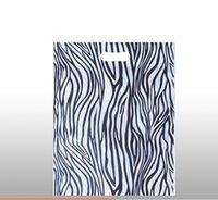 Wholesale Wholesale Zebra Shopping Bags - Wholesale- 31*41cm Leopard gift packaging non woven shopping bags Zebra pattern non-woven gift bag