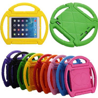 Wholesale Wheel Weights Wholesale - steering wheel Kids Safe Soft EVA Light Foam Weight ShockProof Handle Protective Case With Stand For iPad 2 3  Ipad Air ipad Mini