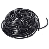 Wholesale 25m Roll PVC Drip Irrigation Hose mm size Water Hose Garden Greenhouse Micro Drip and Sprinkling Tubing Watering System Fitting