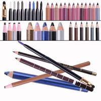 Großhandel-Wasserdichte Augenbraue Bleistift Enhancer Make-up Lidschatten Bleistift Stift Permanent Eye Liner Brow Bleistifte Farbe Make-up Kosmetik-Tool