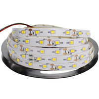 Wholesale-5M / striscia del rullo LED RGB 2835 SMD 300 del nastro del LED String Ribbon Non- RGB impermeabile più brillante rispetto 3528 per decorativo
