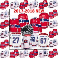 Barato Novos Preços-2017-2018 New Montreal Canadiens 31 Carey Price 6 Shea Weber Jersey 2018 67 Max Pacioretty 27 Alex Galchenyuk 92 Jonathan Drouin Jerseys