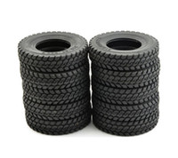 Wholesale LNL x Billet Truck Rear Front Hard Tires Set for Tamiya Scale Tractor Truck