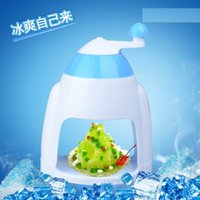 Wholesale Shaved Ice Machines - Summer new Manual Ice crusher Household Hand ice crusher block shaving machine for Home Kitchen Bar