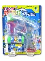 Wholesale Bubbles Guns - Bubble Gun Soap Bubble Blower Kids Child Toys # 03887