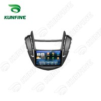 Wholesale New Screen Stereos - 9 Inch Android 5.1 Quad Core 1024*600 Car DVD GPS Navigation Player Car Stereo for Chevrolet Trax 2014 Headunit Radio Deckless Wifi